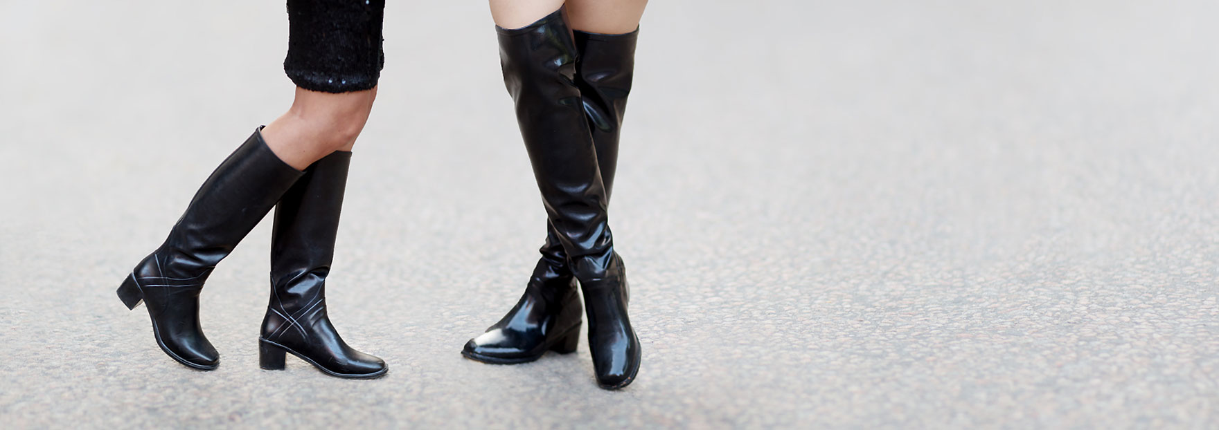 Soft rubber boots