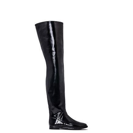 ACQUO - Exclusive Thigh high natural Rubber boots