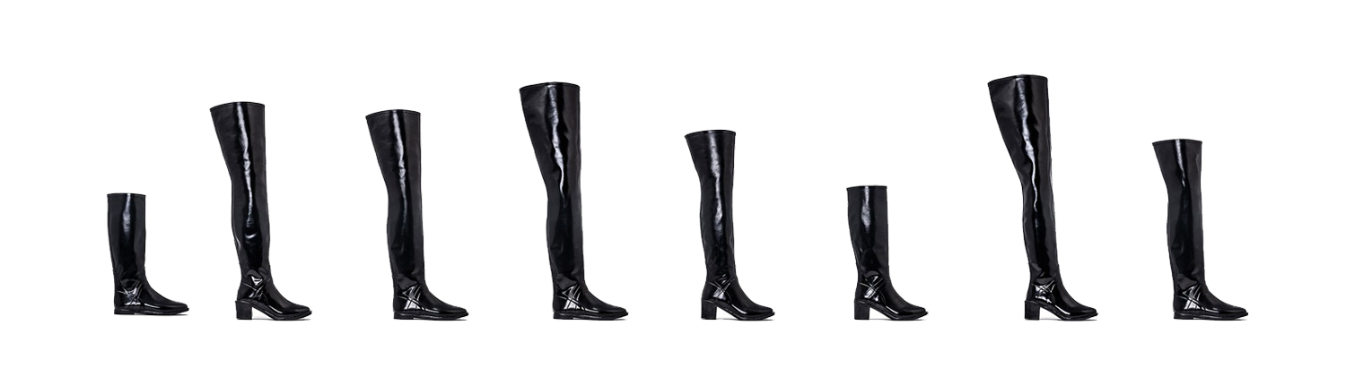 stylish rubber boots acquo