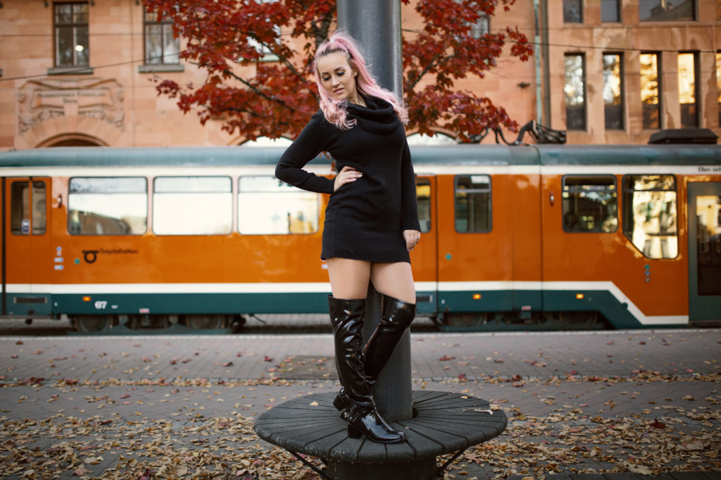 heeled wellington boots