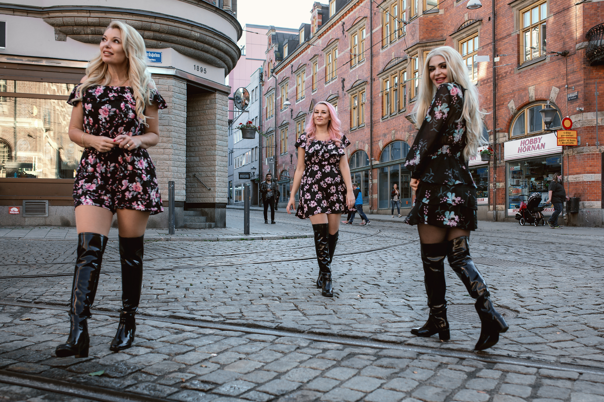 Over the knee boots Always in Fashion Acquo of Sweden