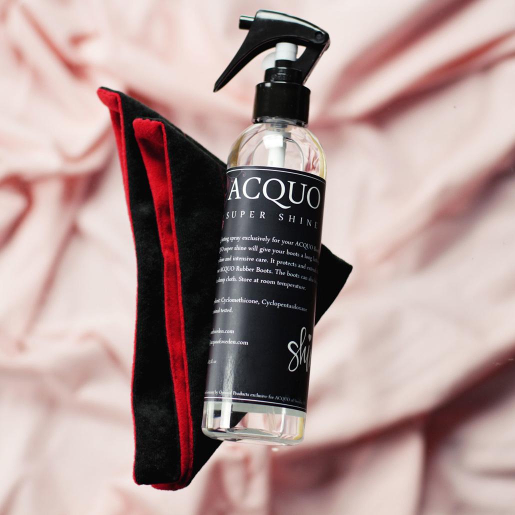 Acquo Shine Spray & Super Cloth