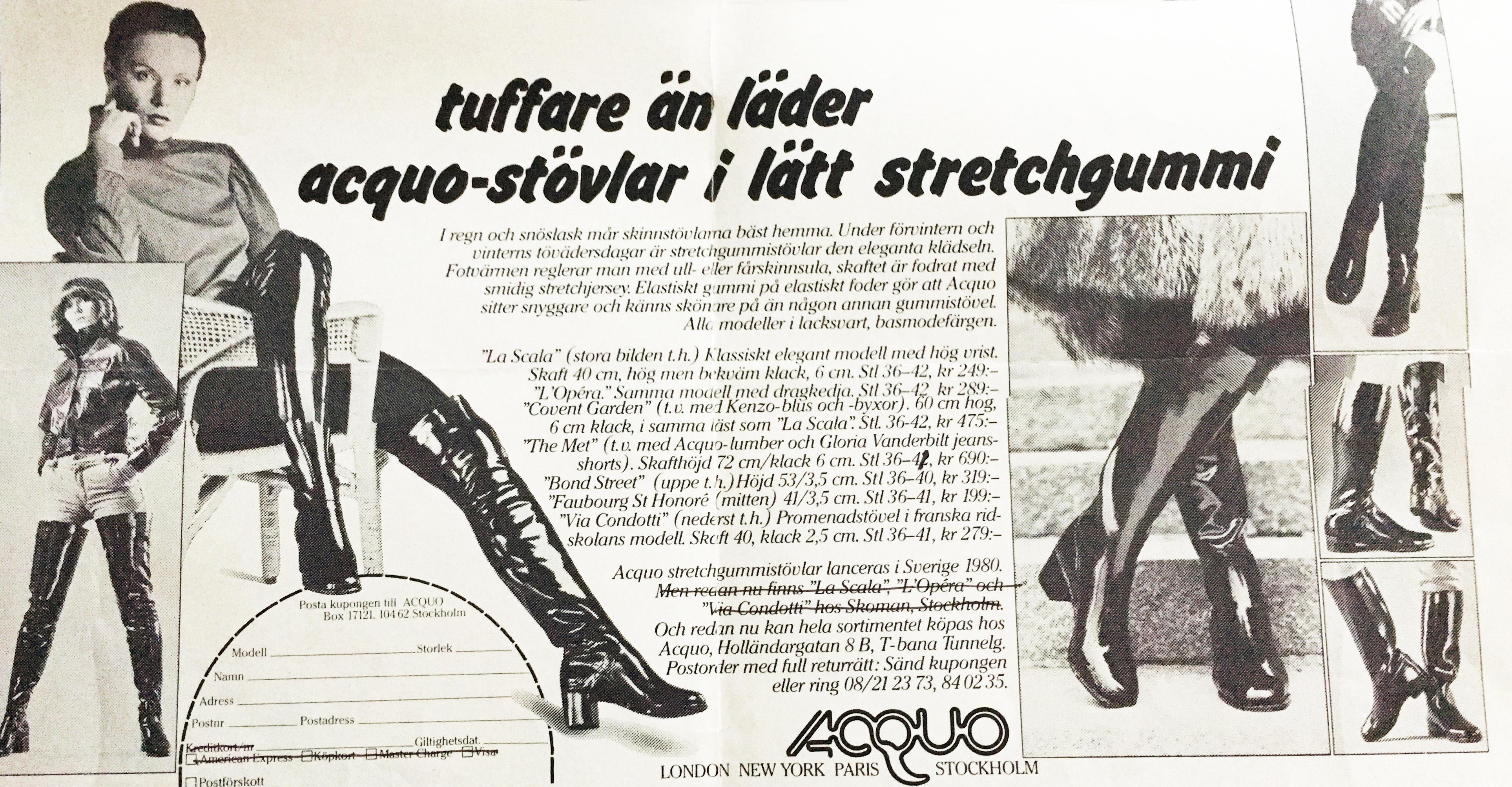 ACQUO ARV Acquo of Sweden
